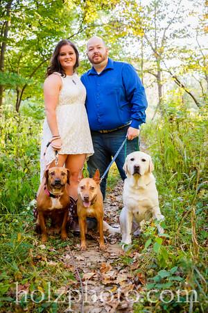 Amanda & Chris Color Engagement Photos