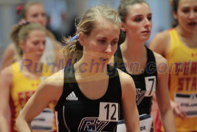 GLIAC Indoors 2017 - 5000M - Heat 2 - Women