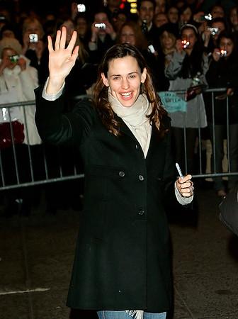 2008-01-06 - Jennifer Garner last day on Broadway