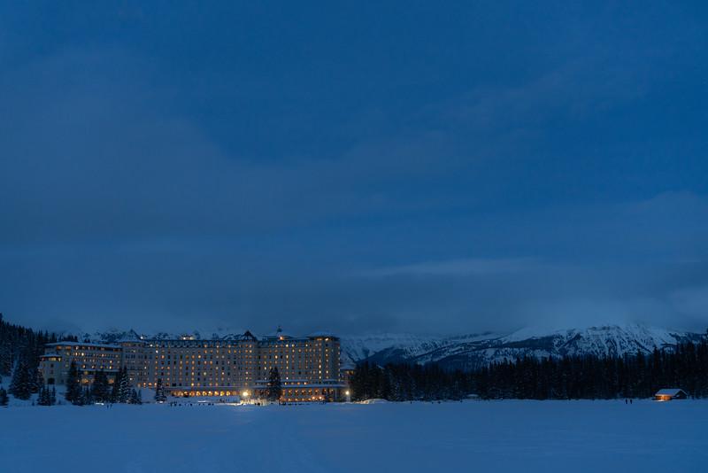 Chateau on Lake Louise (1500m)