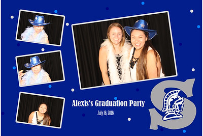 Alexsis Graduation Party