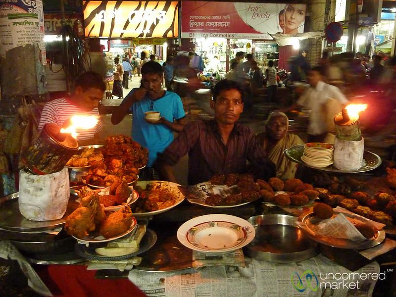 Street Food in Khulna, Bangladesh