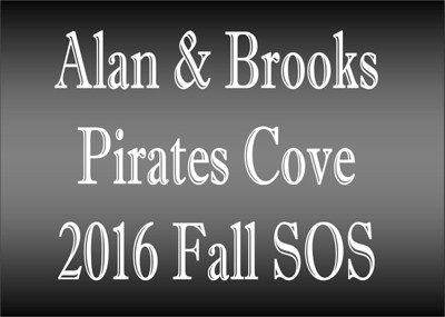 2016 Brooks & Alan At The Pirates Cove