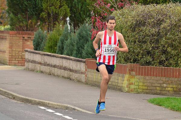 Gosport Half -17/11/13 (local club runners)