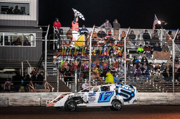 3-27-2015  IRON MAN B Modifieds King of America V Humboldt Speedway