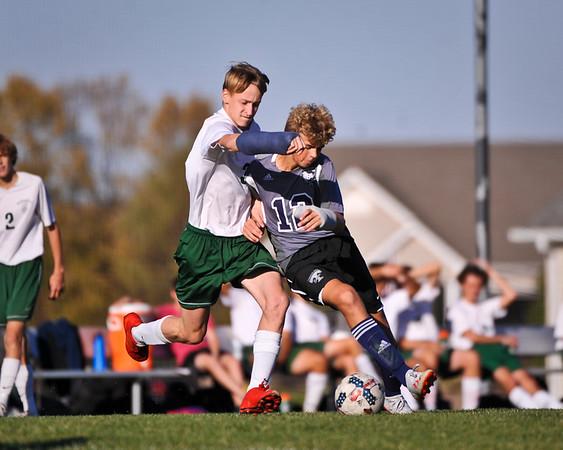 Freshman Boys vs Timberland 10/14/19 Win 2-0