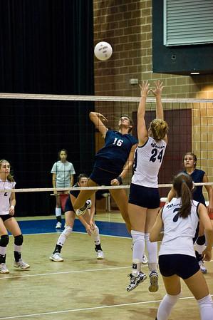 Sports-Volleyball-PA vs Little Rock Christian 090309
