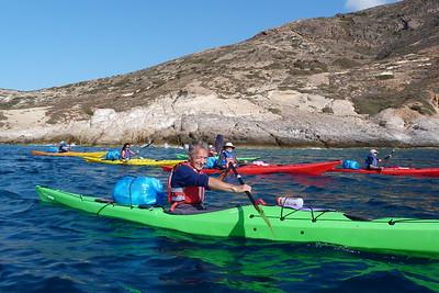 Oct 7 - Kimolos West (rubbish paddling)