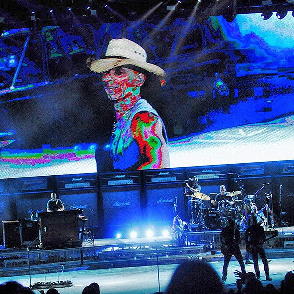 Kenny Chesney and his band entertained thousands for a Friday night concert at CMAC.