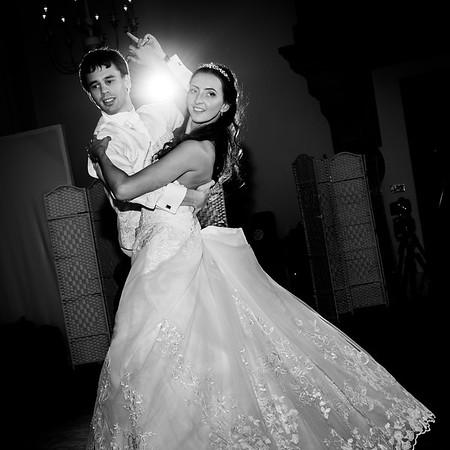wedding photography portfolio - first dance