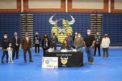 Kaylee MVHS College Signing
