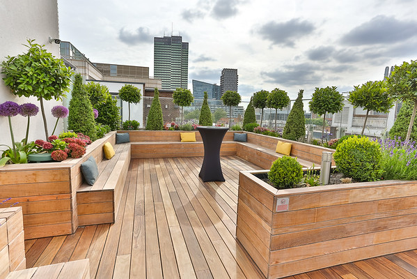 Searcys 30 Euston Square Rooftop Terrace  - HIGH RESOLUTION