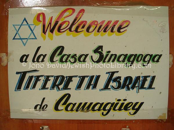 CUBA, Camaguey. Casa Tifereth Israel Synagogue. (2008)