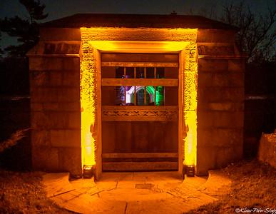 Woodlawn Illuminated Mausoleums 2020