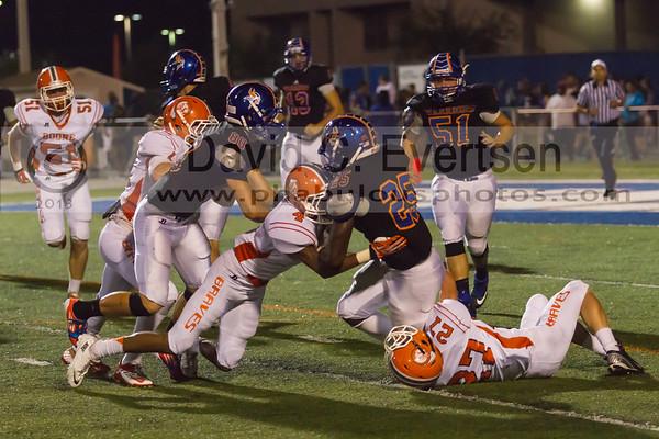 Boone Varsity Football #4 - 2013