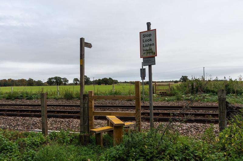 Markhams No 22 Crossing - Wherry Lines
