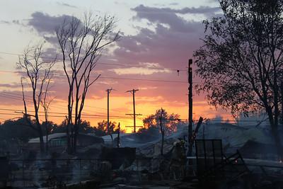 Perryton, Texas FD North Baylor Fire