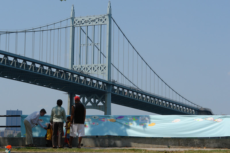 ASTORIA WATER WALK River of Wishes Art and Crafts Visioning Project with Partnerships For Parks and Green Shores NYC