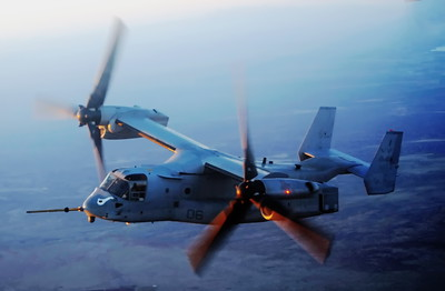 Marine WTI School 04/08/2015, Yuma, AZ. KC-130 to MV-22