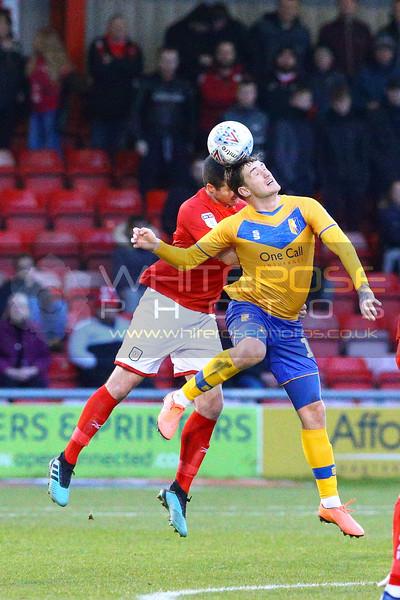 Crewe Alexandra v Mansfield Town 14 - 12 - 19