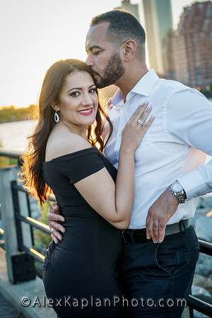 Engagement Session at Liberty State park