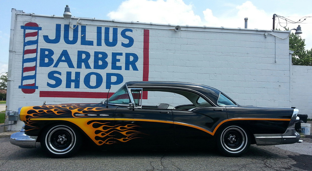 . Name: Justin Johnson Cutline: Here a  pic of my 1957 Buick special done up 1960�s custom style Justin Johnson