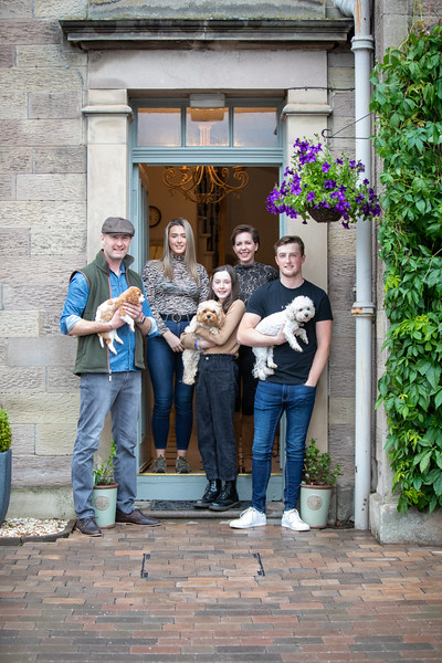 Kelso - Lockdown family portraits - 12-06-20