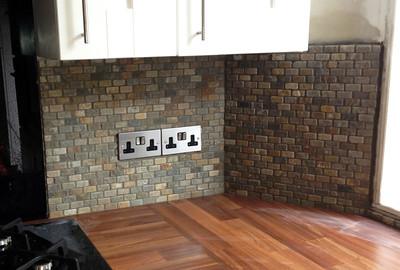 2013-Pulborough Kitchen Tiling, West Sussex