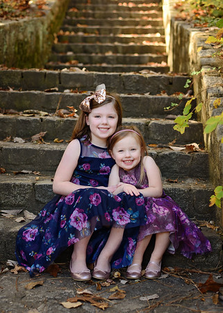Lucy & Lilly {Fall Mini}