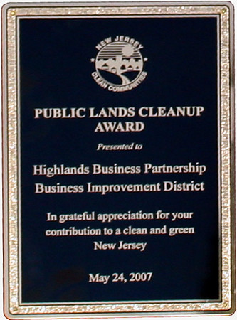 HBP Clean Communites Award 2007-05-24