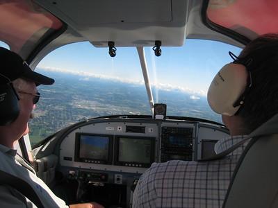 First flight of C-GMDV
