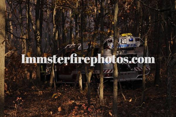 BETHPAGE STATE PARK BRUSHFIRE    HICKSVILLE FD HARRISON AVE HOUSE FIRE