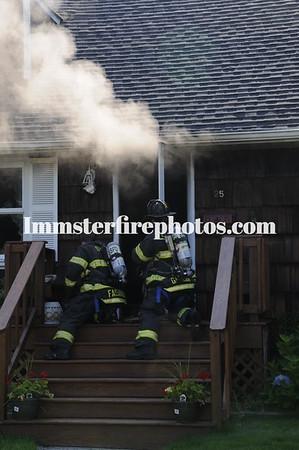 SYOSSET FD MEADOW LANE HOUSE FIRE 7-9-13