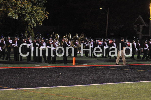 Clinton High homecoming band show (2013)