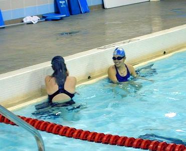 SNHS Swimming Preseason 2001-2002