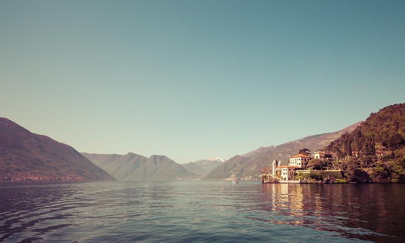 Villa Balbianello from Lake Como