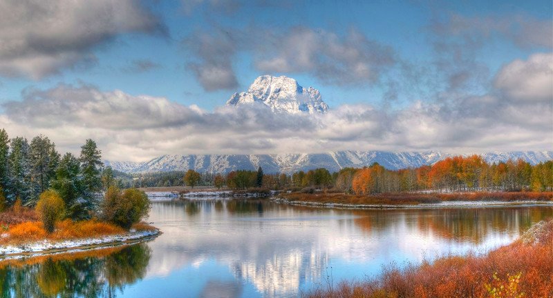 Autumn splendor at Oxbow bend, Grand Teton National park. NOTE:  You can add a beautiful custom frame to this image at www.americanframe.com.  Just type jay seeley into the search box and go from there.  Custom frames are also available here. grand tetons prints or here tetons art