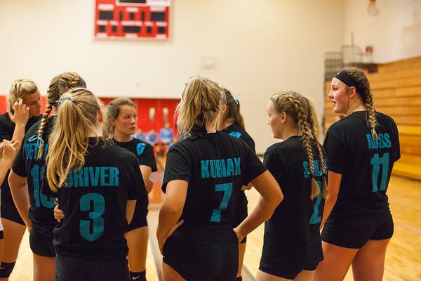 Webberville Varsity Volleyball 2017