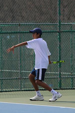 180425 Boys Varsity Tennis v DeSmet