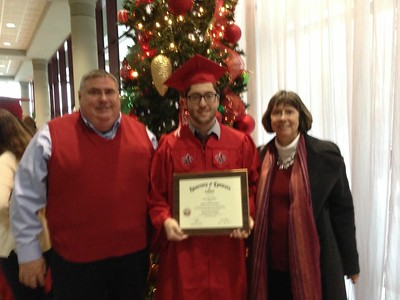 Daniel graduation