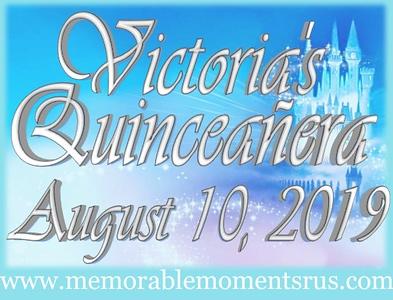 Victoria's Quinceañera