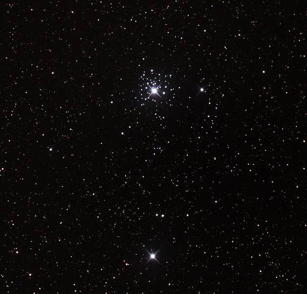 Caldwell C64 - NGC2362 - Tau Canis Majoris Cluster - 15/11/2015 (Processed Cropped Stack)