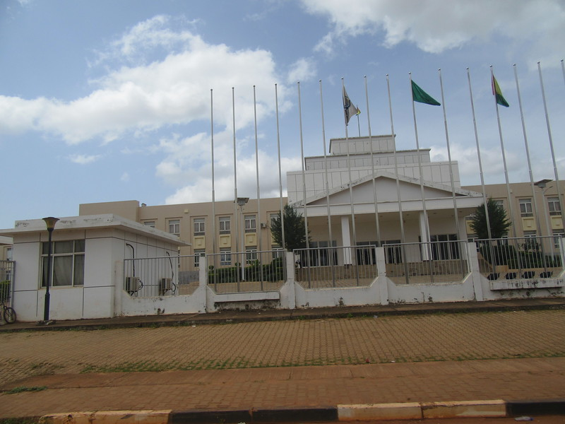 017_Guinea-Bissau. Bissau City. On an island. Population 700,000. The Governement House.JPG