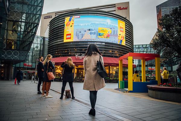 24/10/20 - Lego Interactive Billboard - Westfield