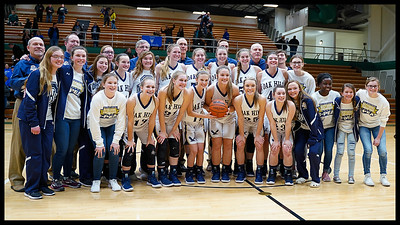 Oak Hill vs Tipton Girls Basketball Regional  2-9-19