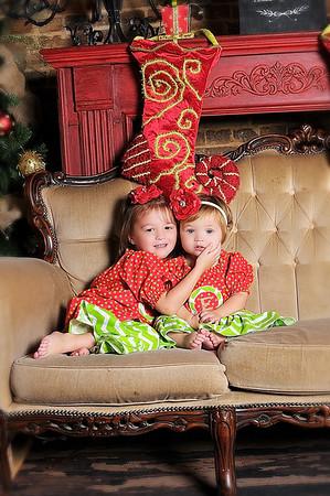 ABIGAIL & ELLA JO ~ Christmas