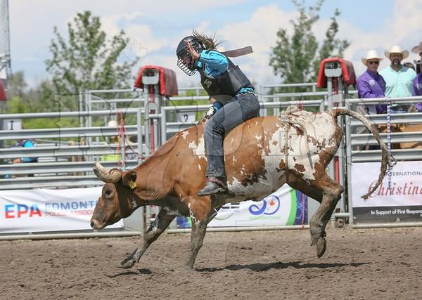 Ladies Steer Riding