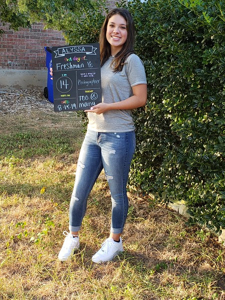 Alyssa | 9th grade | Leander High School