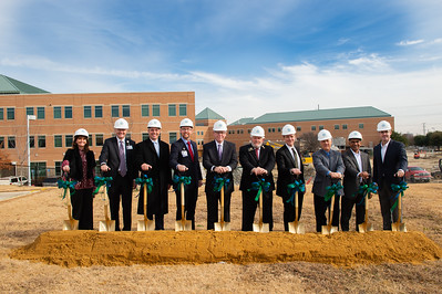 Texas Health Allen Ground Breaking