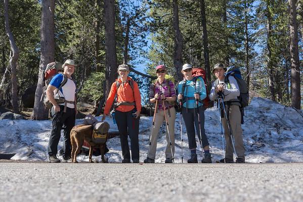 Backpacking Upper Twin Lake